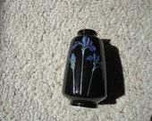 Miniature Blue Iris Vase - Otagiri Japan