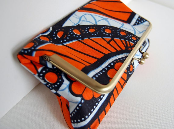 The 'Amy' Foldover Clutch - African Print