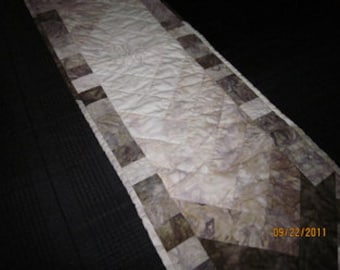 Twilight Quilted Table Runner