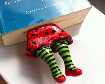 Dorothy Nightmare Bookmark - Legs in Your Book