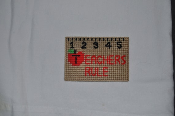 Teacher's Rule Refrigerator Magnet
