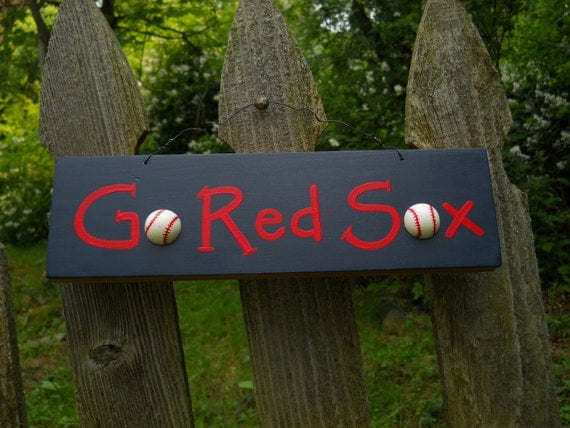 Go Red Sox sign