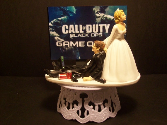 video game call of duty bride and groom funny wedding by mikeg1968. Black Bedroom Furniture Sets. Home Design Ideas