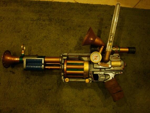 The Captain Steampunk Gun