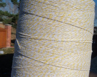 Bakers Twine - Yellow and White Bakers Twine or Your Choice of Color - BULK Shop Supply