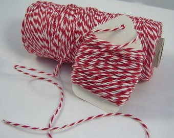 Bakers Twine - The Twinery - 100% Cotton  - One Color  - Your Choice of Color and Length