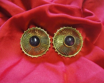 Laurel Burch Southwestern Earrings - Retired Design and Discontinued Line - Vintage