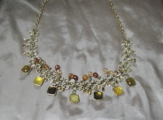 Gypsy Dangle Necklace - Vintage