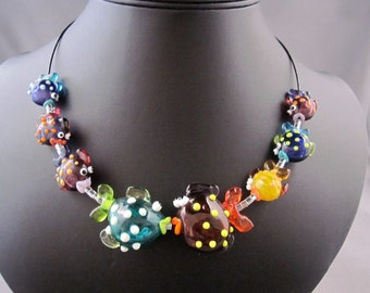 A School of Fish Necklace