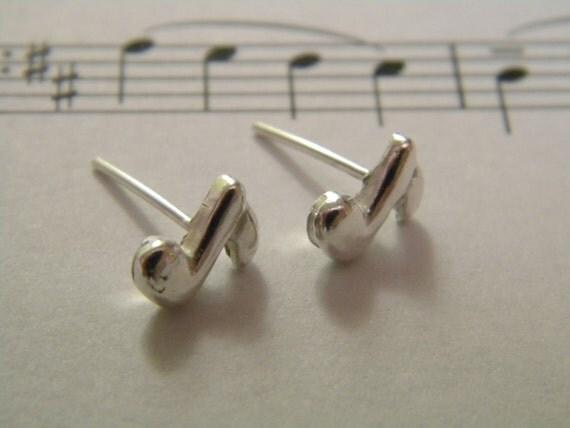 Music for my ears earrings ( silver 925)