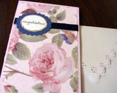 Congratulations with Roses Card and Envelope