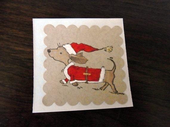 Happy Santa Sticker Set of 6