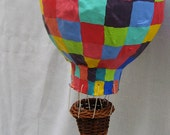 Hot Air Balloon Multi Color