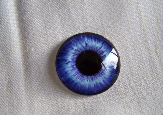 Glass eye 25mm glass cabochon eye