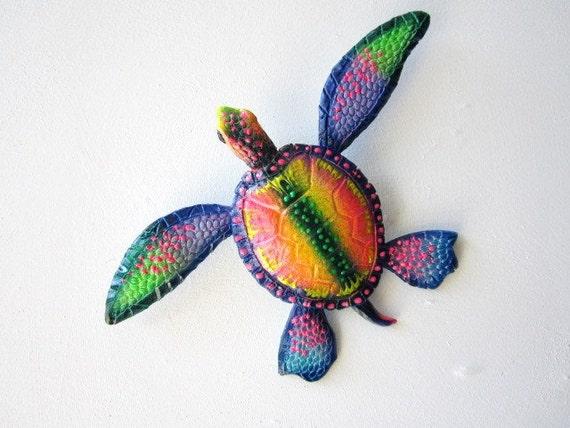 Turtle art wall decor