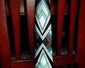 Art Deco Style Men's necktie