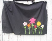 Nature Inspired Flowerbed Nursing Cover.  One of a kind.