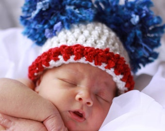 READY  Baby Hat - 4th Of July Baby Hat - Celebrate July 4th with this fun Baby Hat