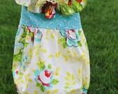 Rose Bouquet Romper