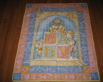 Baby Bears & Blocks Quilt