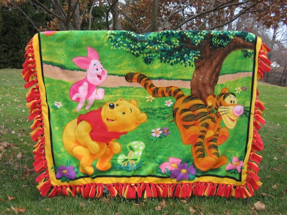 Winnie The Pooh and Tigger Fleece Blanket
