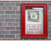 One Dollar Gift - Funny Birthday Gift -Emergency Case Women Birthday Men Gift Rusteam Dollar bill Coworker gift Funny gag