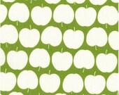 1m Green Apple Fabric - Kokka