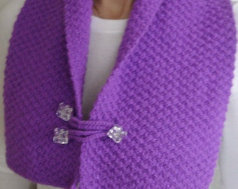 Purple Shawl,Scarf
