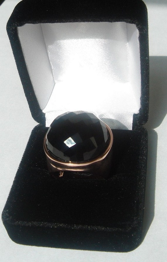 Silver,rose gold ring
