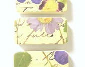 Magnet Gift Set Purple floral Shabby Chic Wedding Favors