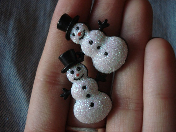Little Snowmen Earrings