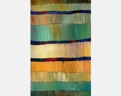 ORIGINAL PAINTING Abstract Vertical 48x24 Ready To Hang Wall Art By Thomas John