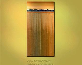 EXTRA LARGE 30x60 Original Landscape Painting Ready to hang Modern Art By Thomas John
