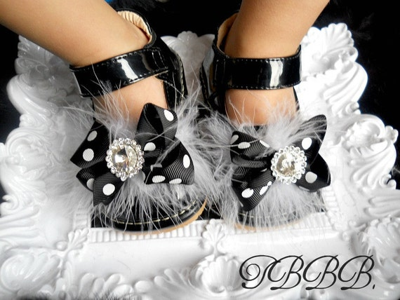 Toddler Black Squeaky Mary Jane,Girl leather shoes.Ready to ship.