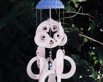 Windchime - dome top chime, porcelain chime