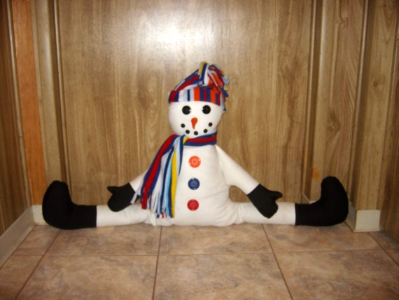 Door Draft Stopper Snowman