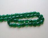 Emerald Green Onyx, Smooth Ovals