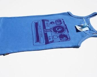 SALE KIds Retro Polaroid Singlet  - Size 6-8