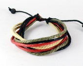 colorful ropes bracelet  (R38)