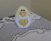 Easter/ Spring Chick hatching from an Egg Love Chunk
