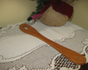 Hardwood Cherry Wooden Spatula large