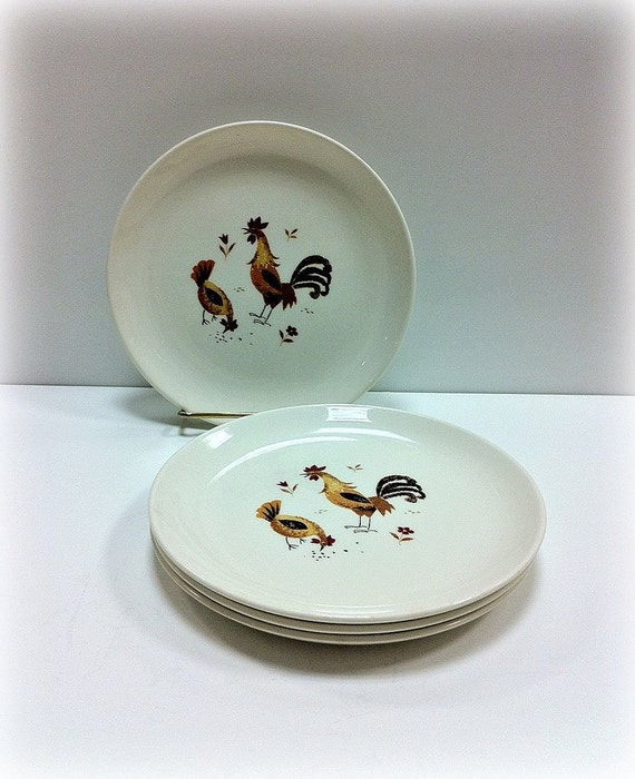 Taylor Smith Dessert Plates Break O' Day Vintage Dishes