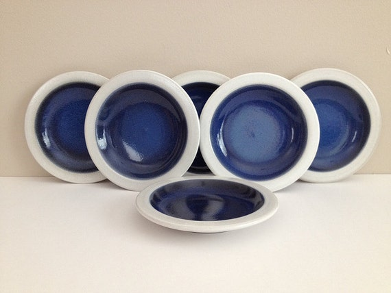 Heath Ceramics Plates Moonstone Blue