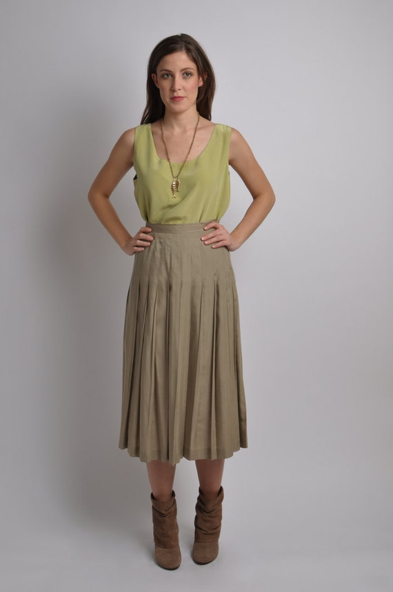 Vintage Reversible Silk Blouse
