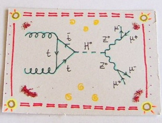 ACEO - Physics - Higgs boson Feynman diagram