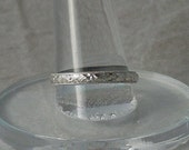 Wedding Ring, wedding band, sterling ring, free engraving, wedding jewelry, promise ring, engagement ring, ring for her, patterned ring,