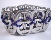 L Poppy Toppy 24 Tab Bracelet in Purple - size Large - Donation made to Ronald McDonald house with your purchase