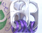 Purple Earrings - Donation made to Ronald McDonald House with your purchase