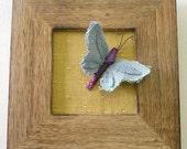 Flutterby Butterfly - 3D Textile Art