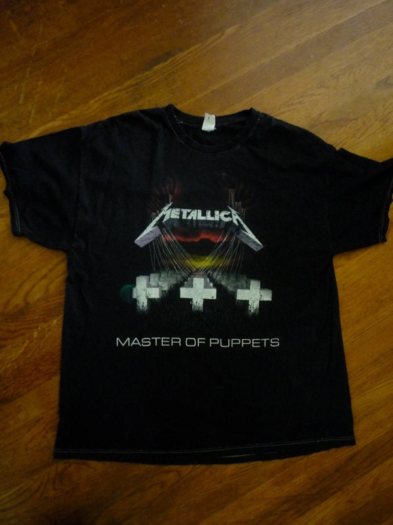 Vintage Authentic '80s METALLICA Master of Puppets T - Shirt